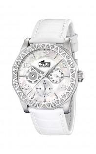 Lotus ženski sat Silver/White