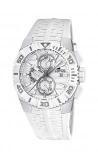 Lotus muški sat Silver/White