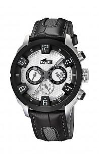 Lotus muški sat Silver/Black