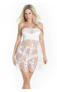 Coquette babydoll i tangice