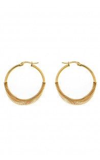 69 Jewels Nušnice Gold