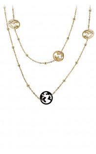 69 Jewels Ogrlica Gold