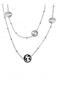 69 Jewels Ogrlica Steel